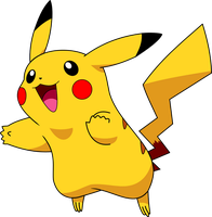 Pikachu by Captain-Connor