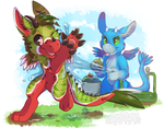 YCH - Keeping Cool by sweet-salt