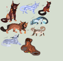 Left Over Adopts For Points by Ronaai