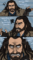 Hobbit: That's what Thorin Oakenshield hates by sparkyHERO