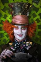 The Mad Hatter by maru123