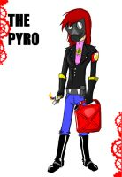 Team Fortress School-The Pyro by cat-gray-and-me78
