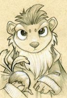 Sir Edelweiss Lemurling And His Turnip by ursulav
