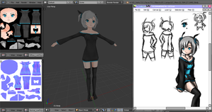 ICS_Shirayuki Android-tan_Wip1 by jugapugz