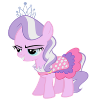 Diamond Tiara by TheFlutterKnight