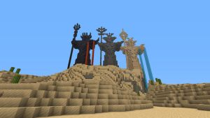The Gods of Minecraft by fitipaldi93