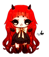 Cute Dark Chibi by Rezo-Bunny-Adopt