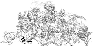 PlayStation Icons Pencils by torsor