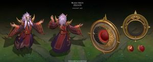 Blood Moon Zilean by Yideth
