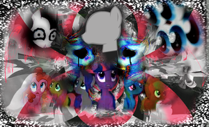 The Creepypasta Ponies by WarriorSparrow