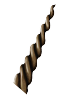 Wooden Unicorn Horn -PNG- by PSauburnchick12