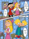 Hey Arnold - Spin the bottle pg 2 by ingridochoa