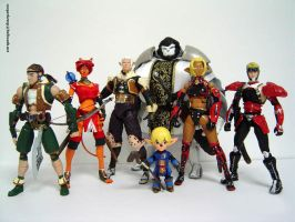 Final Fantasy XI action figure by Sooperkreep