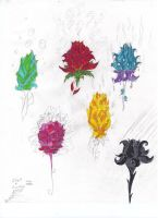 6 Of Flowers by goina