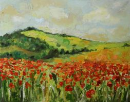 Poppies by magdaurse