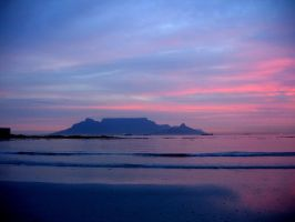 Cape Town Sunset by mbainb