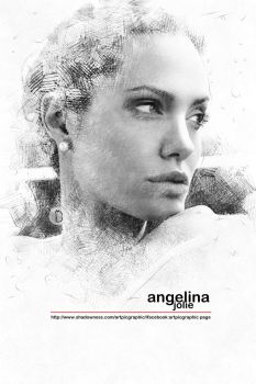 Digisketch-Actor-Angelina-Jolie by cemuihdah