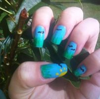 The Outside World Nails by MissDaniLips