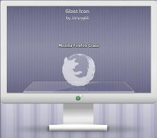 Mozilla Firefox Glass by Uriy1966