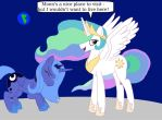 Ponies In Outerspace by T-Brony