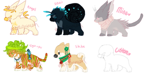 Lots O Adopts (CLOSED) by meteorcrash