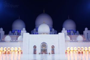 Sheikh Zayed mosque Abu Dhabi 6 by amirajuli