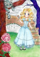 I found myself in Wonderland by My-Anne