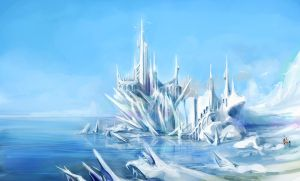 Ice Castle by JingleKo