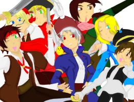 Pirates of Hetalia by Samstar1990