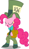 Pinkie-Hatter (Nightmare Night 2014 Costume) by Zacatron94