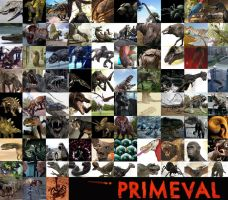 Primeval Creature Reference Chart by Pristichampsus