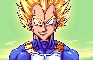 Vegeta Super Saiyan DBZee By Gonzossm by GT4tube