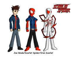 Ultimate Scarlet Spider by spid3y916