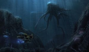 The thing from the abyss by MARV6617