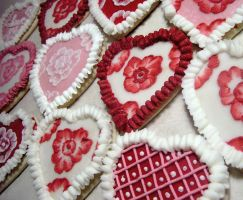 Heart Cookies by DancesWithWacom