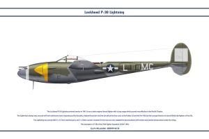 P-38J USAAF 79th FS 1 by WS-Clave