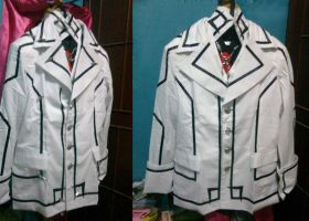 Night Class Uniform from Vampire Knight by seawaterwitch
