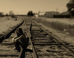 Long Lonely Road of Life by NordicWyrm