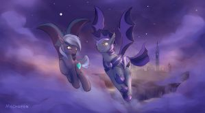 Evening flight by Mechagen