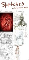 2010 - Sketchdump and projects by Vagelio