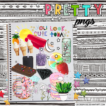 Pretty | png's by CeciiDeRose