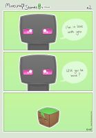Minecraft Stories #02: Enderman's Love by Lanamite