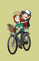 Faire du velo by markmak