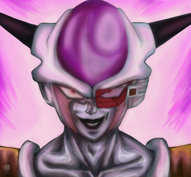 Lord Frieza by dgrayrain