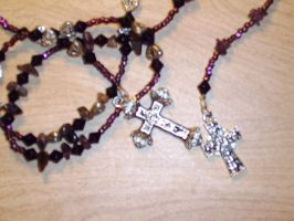 Shadow Box: Rosary- closeup by Mallenroh001