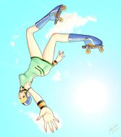 Fly like a Butterfly by Ciel-Lucy