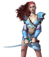 Female 37 PNG Stock by Roys-Art