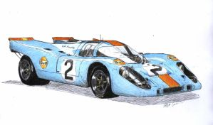 porsche 917 by FIGHTINGPEGASUS