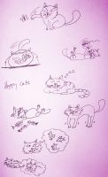 Happy Cats by IronOutlaw56