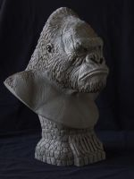 """Kong"" bust by revenant-99"